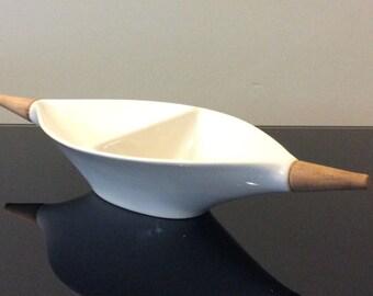 Hyalyn Raymor Capri Divided Dish - Michael Lax