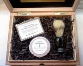 Drakkar Cigar Box Deluxe Shave/Shaving Set Kit - Nording