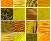 "14 Packs (Shades of Yellow) 700 Strips. Culture Pop Premium Solid Color Quilling Paper Strips. 17"" Long. 1/8 1/4 1/2 inches 3 6 mm"