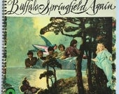 Buffalo Springfield Recycled Record Album Cover Book