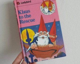 Wisdom of the Gnomes Notebook handmade from a vintage ladybird book Klaus