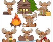 The Great Outdoors 1 Clipart (Digital Zip Download)