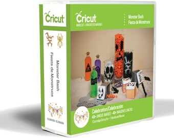 Sale! MONSTER BASH Cricut Image Set Cartridge - With FREE Stickers