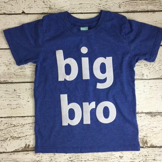 Big brother shirt birth announcement big bro tee sibling for Big sister birth announcement shirts
