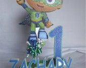 Super Why birthday party cake topper -PS