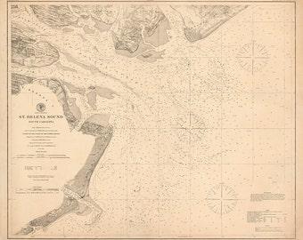 St. Helena Sound - 1868