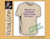 What if Chuck was one of us? - Hand-printed T-shirt - Seems almost Supernatural in its awesomeness.