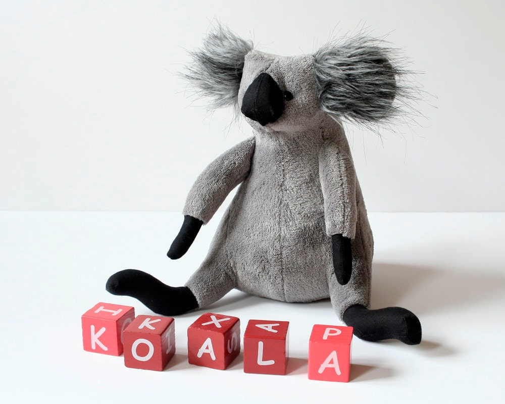Koala, Native Australian Plushie, Teddy Bear, Cuddly Plush