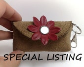 Special listing only for Eliseo Gonzalez-Handmade wallet from brown genuine leather