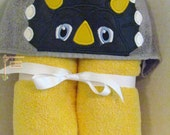 Dinosoar Hooded Towel