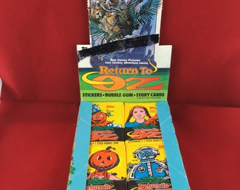 Return to Oz Trading Cards