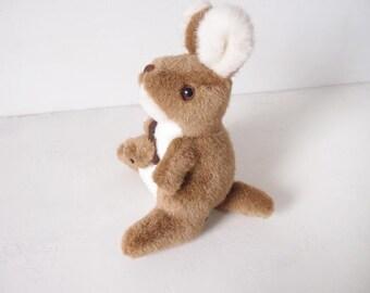 Cute kangaroo soft toy