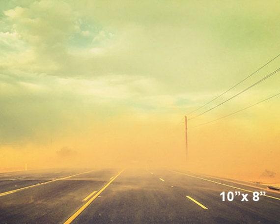 10x8 Digital file - Dust Storm Photograph