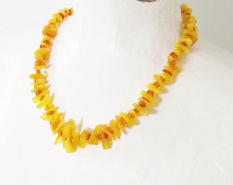Vintage Honey Baltic Amber Necklace