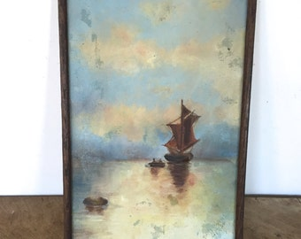 vintage Painting signed by the artist
