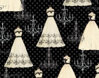 Paris Charm - Dresses Chandelier from David Textiles