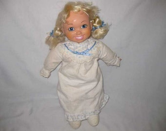 """Cute 17"""" 1990 NORTHERN Tissue Ad Advertising Doll"""