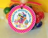 12 Shopkins Birthday Party Favor Tags