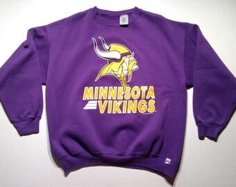 1993 Minnesota Vikings sweatshirt, fits like an XL