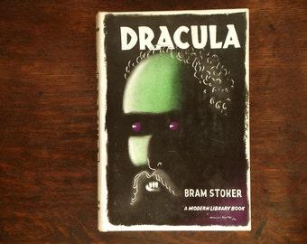 vintage Dracula book by Bram Stoker