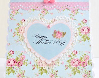 Cottage Chic Mother's day Card