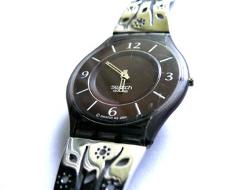 Swatch Skin watch Ultra Flat Thin Watch Swiss