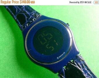 Swatch Watch Skin blue Digital Lcd Swatch large watch Swatch watch Swiss watch
