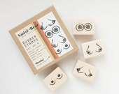 Boob Rubber Stamp Set