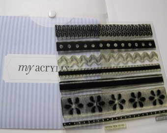 Acrylic Stamp Set - Close to My Heart D1131 - Ritzy Ribbon