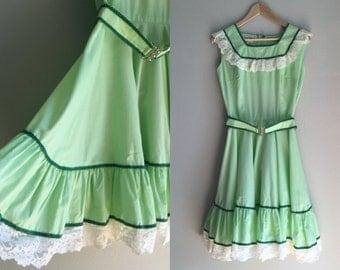 Folk square dance dress size x-small - CLEARANCE
