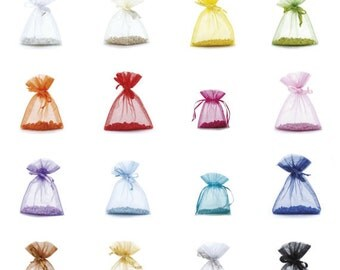 Organza Bags Party Favor Jewelry Pouch