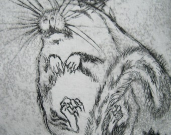 Dormouse etching