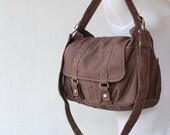 NEW YEAR SALE 30% - Pico2 in Cinnamon (Water Resistant) Purse / Laptop / Shoulder bag / Messenger Bag / Handbag / Wallet / Diaper Bag / Hobo