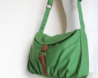 CHRISTMAS in July 30% + Mysterious Gift - Fortuner-S in Army Green / Purse/ Laptop / Shoulder bag / Handbag / Purse / Hobo / Gift for her