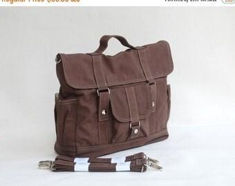 NEW YEAR SALE 30% - Pico2 Backpack  in Cinnamon (Water Resistant) Purse / Shoulder bag / Messenger Bag / Handbag / Wallet / Diaper Bag / Hob