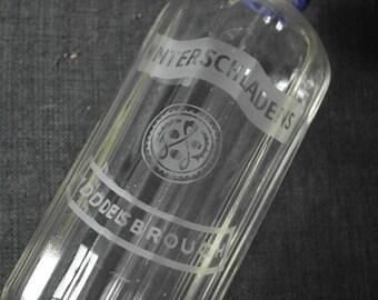 vintage glass soda syphon winterschladens of middlesbrough