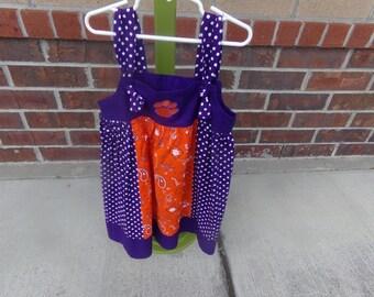 CLEMSON CHILDRENS DRESS