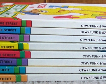 On My Way With Sesame Street Childrens Books - You Choose Which Volumes?