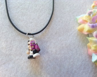 Two Faces Villain  Squinky Necklace