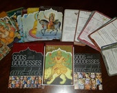 Gods and Goddesses Card Deck : Mantras, Blessings and Meditations by Mandala