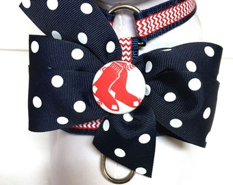 Dog Harness- The Red Sox