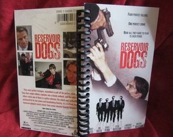 Reservoir Dogs VHS Tape Box Notebook
