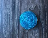 Silk flower hair clip - Dupioni silk