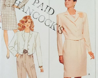 Butterick 6816, Size 14-16-18, Misses' Jacket, Top, Skirt and Pants Pattern, UNCUT, 1998, Career Wear, Work Wear, Very Easy, Party