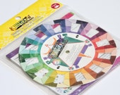 "Dritz Rainbow Color Wheel, Craft Quilting Scrapbooking Color Combination Selector, 5"" diameter Pocket Travel Art Tool Supply itsyourcountry"
