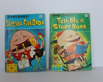 Humpty Dumpty's Tell Me A Story Book and Science Fun Book