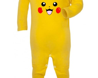 Pikachu Inspired Rompa Suit
