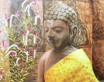 Zen Buddha Mini Art Print