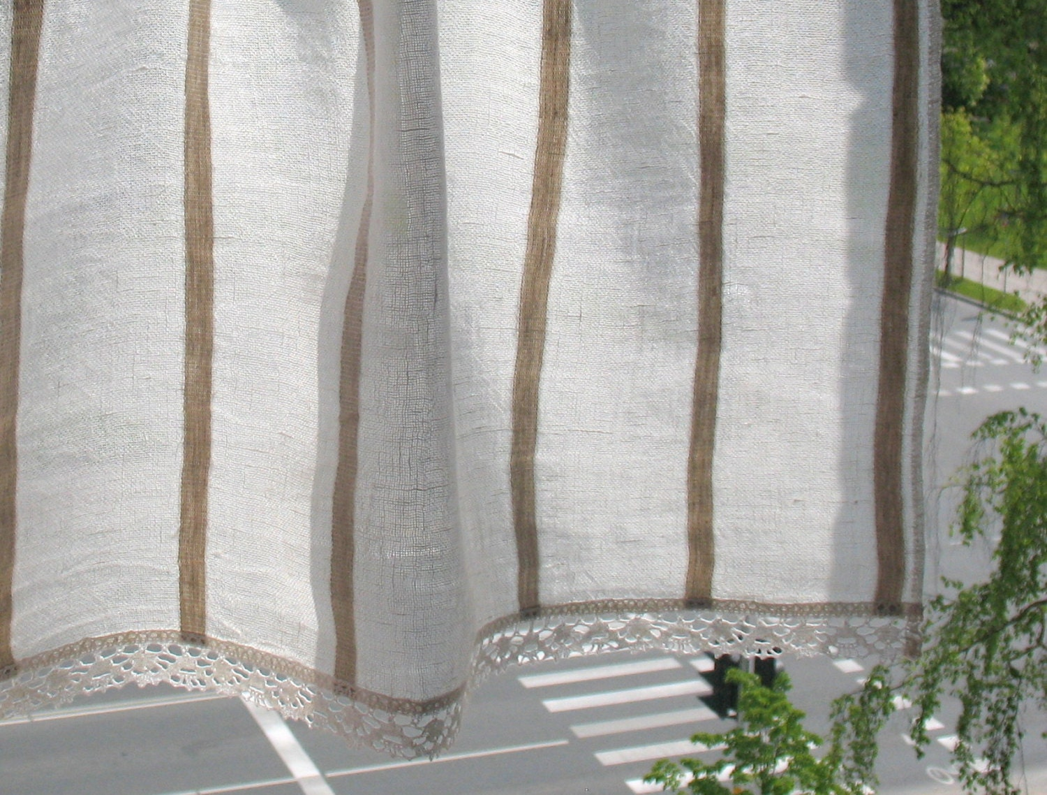 Curtain Burlap Curtains Lace Curtains Cafe Curtains Washed