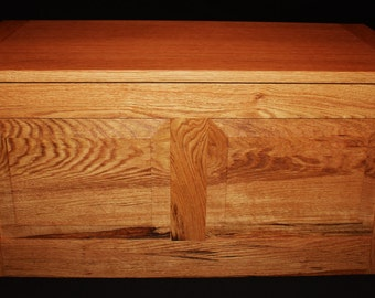 "Natural Oak - Hope Chest - Blanket Chest - Toy Chest - Toy Box - Trunk - Furniture - Large - 33"" Long x 16-1/2"" Wide x 16"" High"